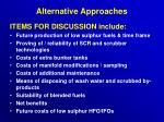 alternative approaches21