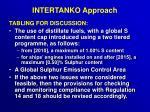 intertanko approach