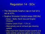 regulation 14 sox