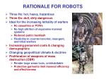 rationale for robots