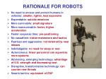 rationale for robots8