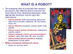 what is a robot4
