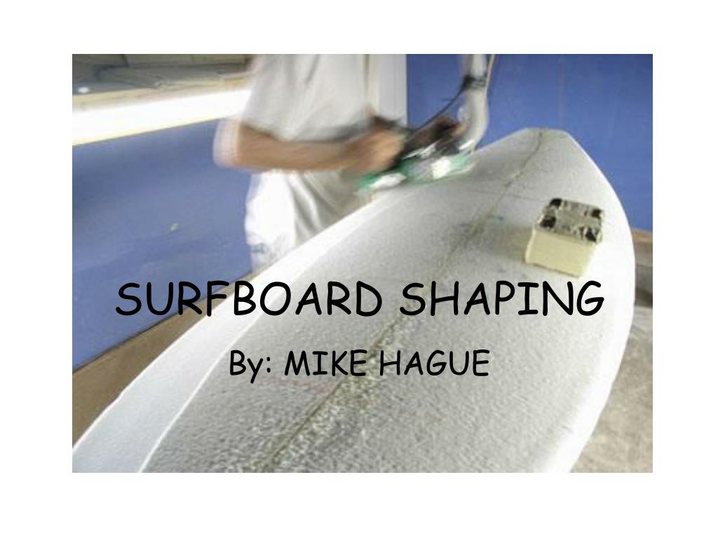 surfboard shaping l.