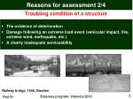 reasons for assessment 2 4
