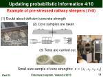updating probabilistic information 4 10