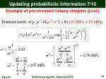 updating probabilistic information 7 10
