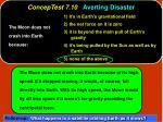 conceptest 7 10 averting disaster30