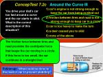 conceptest 7 2c around the curve iii12