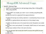 mongodb advanced usage28