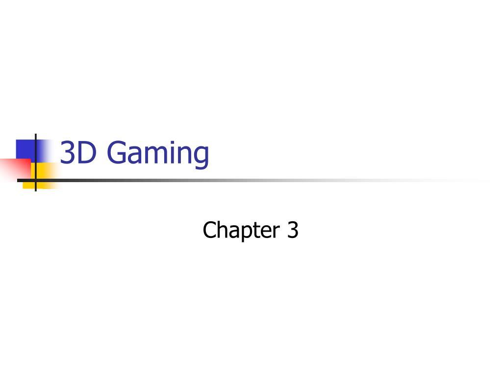 3d gaming l.