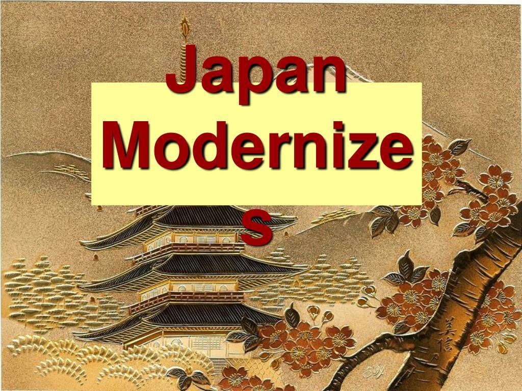 japan modernizes l.