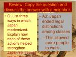 review copy the question and discuss the answer with a neighbor28