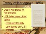 treaty of kanagawa 1854