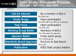 case study standards process p802 3ah nov 2000 sept 2004