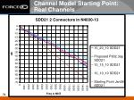 channel model starting point real channels