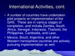 international activities cont11