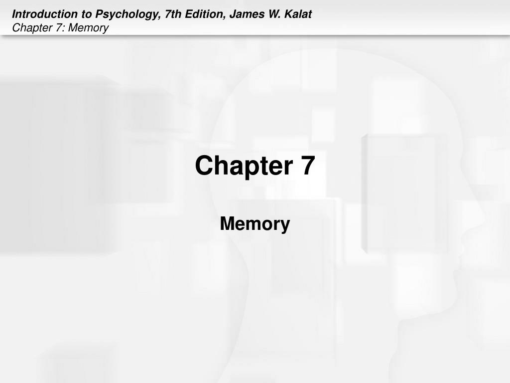 chapter 7 memory l.
