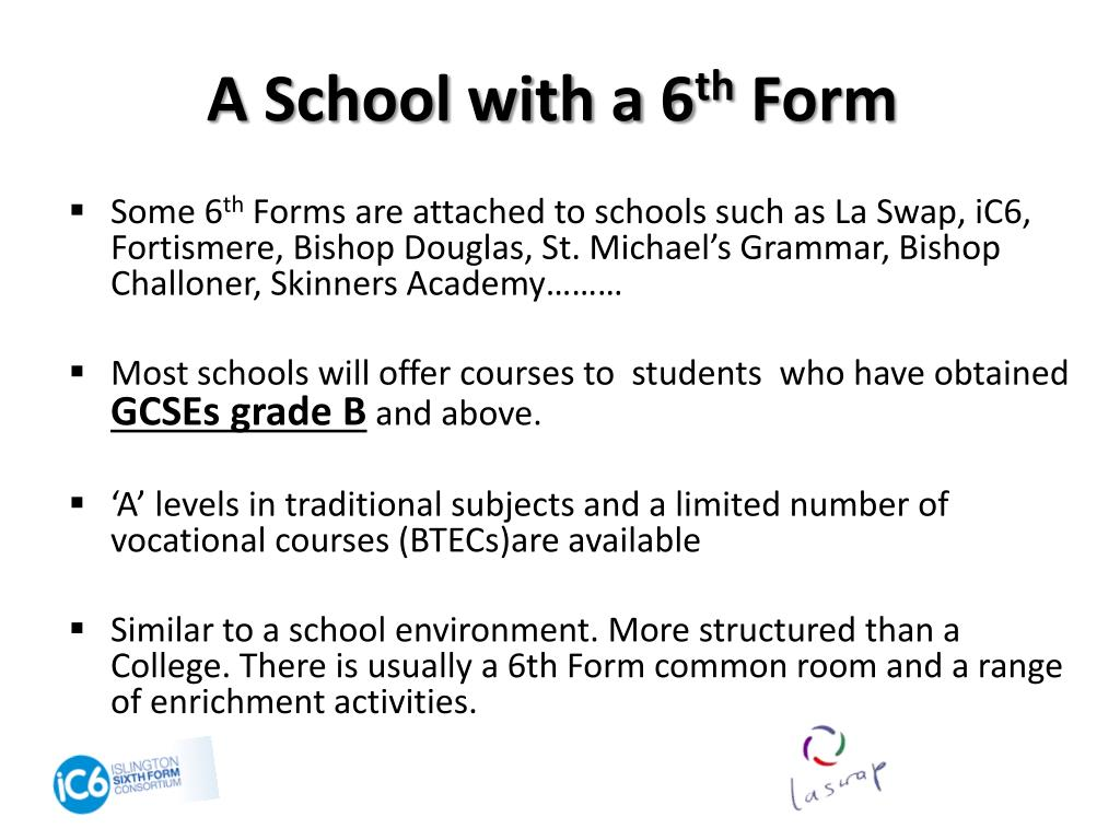 A School with a 6