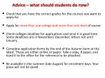 advice what should students do now18
