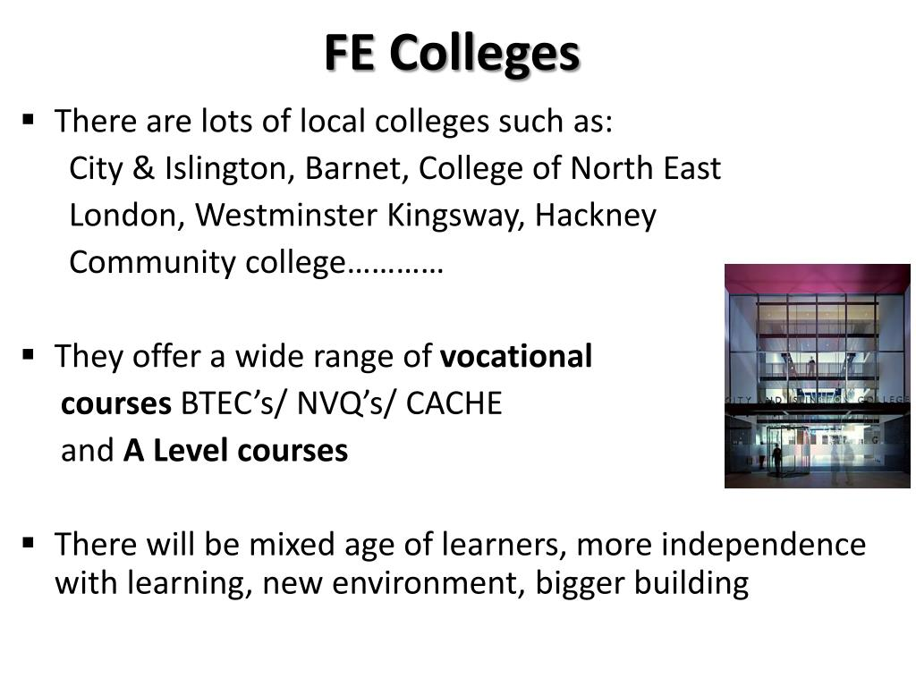 FE Colleges