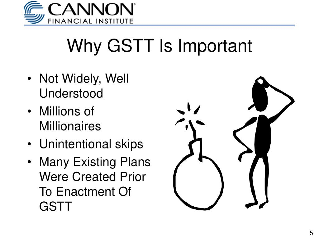 Why GSTT Is Important