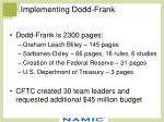implementing dodd frank