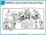 namic s view of the financial crisis
