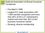 national association of mutual insurance companies