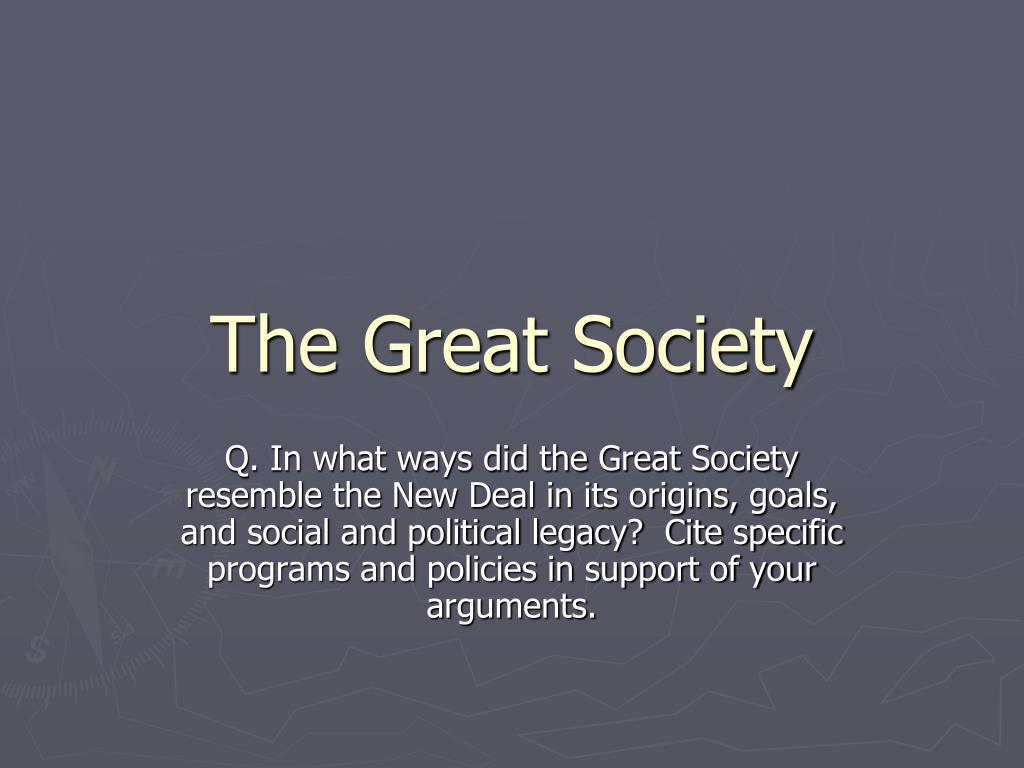 the great society l.