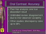 oral contrast accuracy19