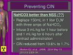 preventing cin54