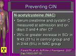 preventing cin60