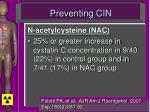 preventing cin61