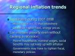 regional inflation trends