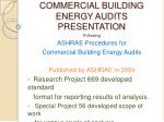 commercial building energy audits presentation2