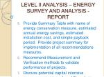 level ii analysis energy survey and analysis report50