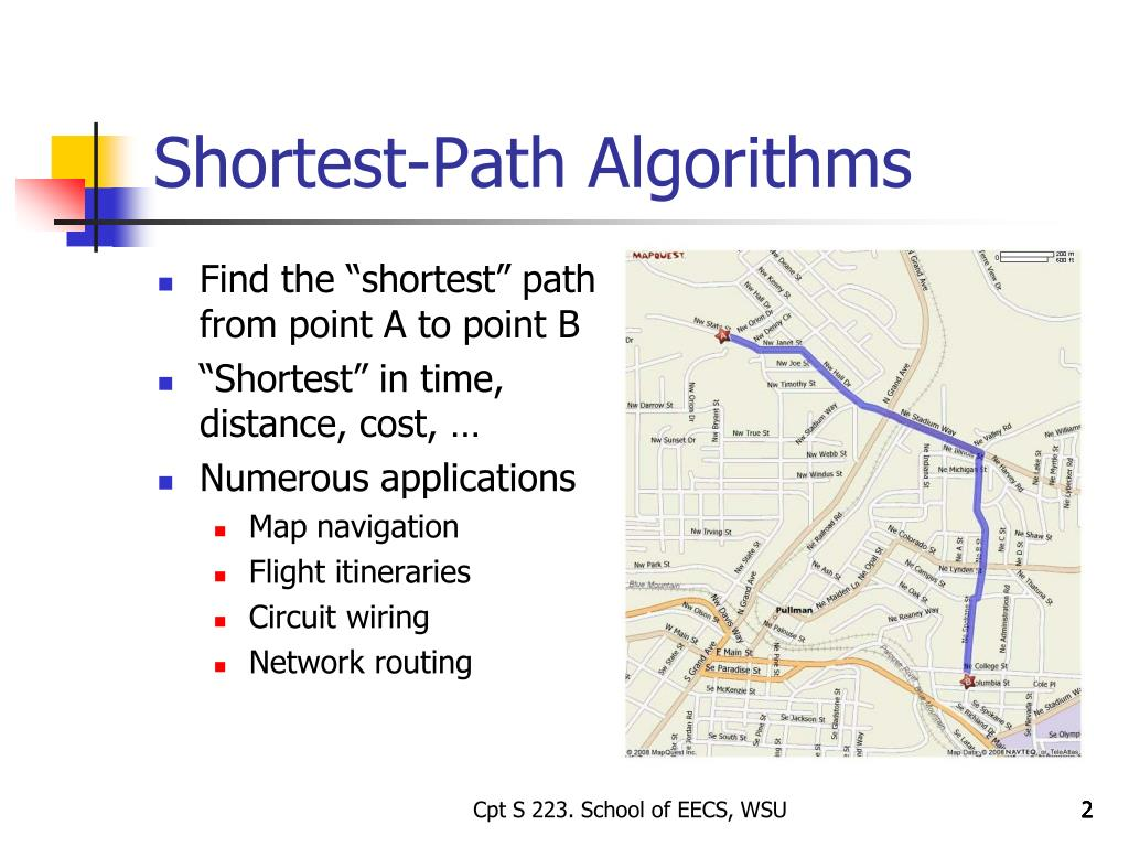 PPT - The Shortest Path Problem PowerPoint Presentation - ID