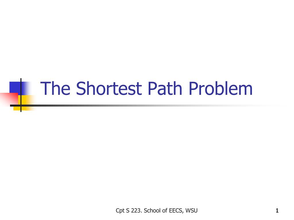 the shortest path problem l.
