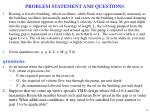 problem statement and questions