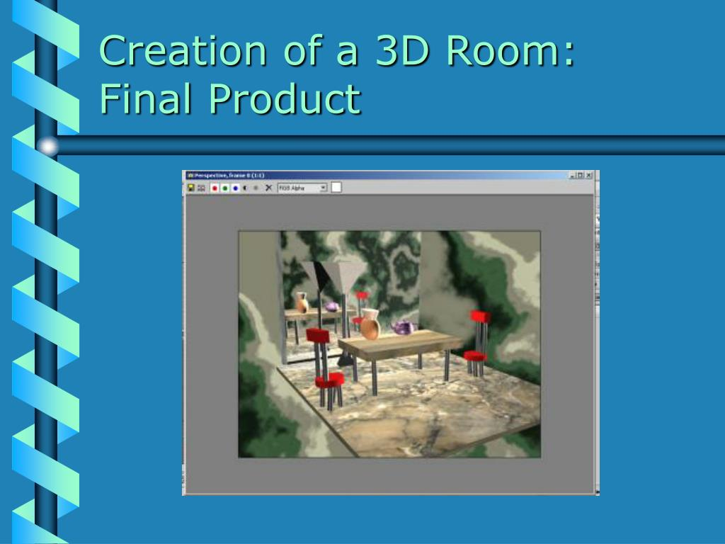 Creation of a 3D Room: