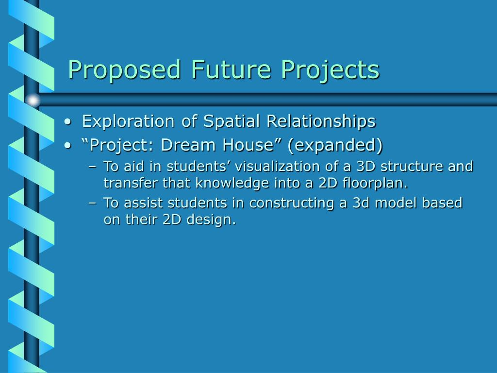 Proposed Future Projects