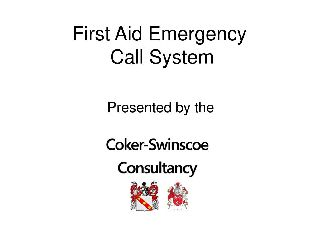 first aid emergency call system l.