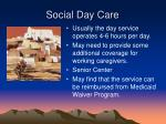 social day care29