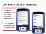 antibiotic guides theradoc