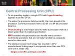 central processing unit cpu22