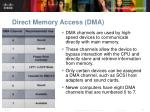 direct memory access dma