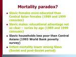 mortality paradox17
