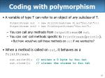 coding with polymorphism14