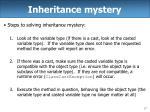 inheritance mystery17