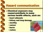 hazard communication17